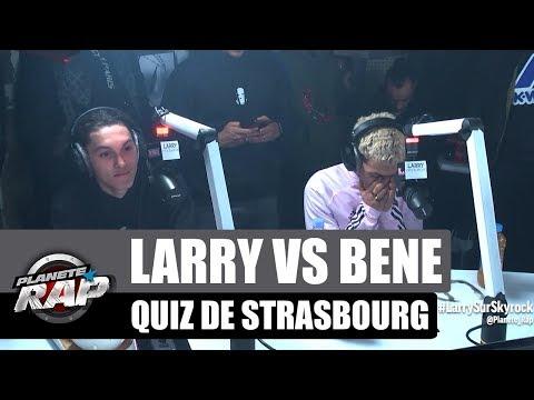 Youtube: Larry Vs Béné – Quiz de Strasbourg #PlanèteRap