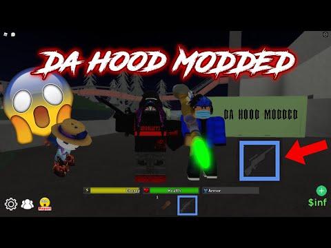 Da Hood  - Modded