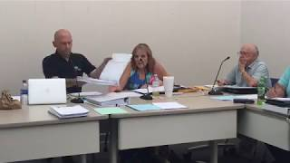 Hawkins County Commission Budget Committee 7 15 19