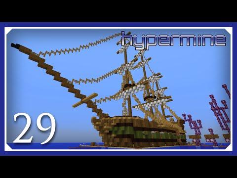 Minecraft Hypermine Vanilla Server | Ship's Hull | E29 (Hypermine 1.10 SMP S3)