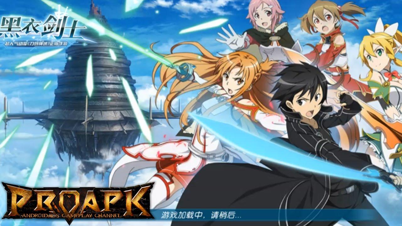 Sword Art Online Black Swordsman CN Gameplay IOS Android CBT