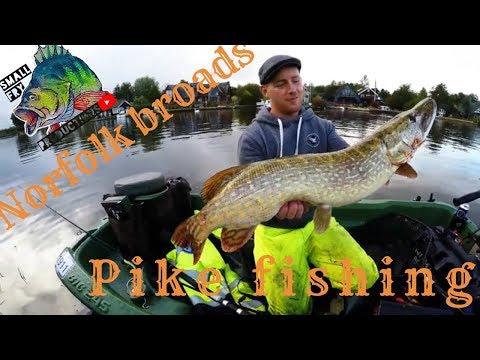 Norfolk Broads Pike Fishing Part 2