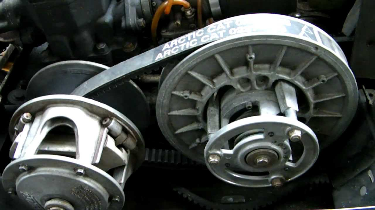 Arctic Cat Drive Belt Installation