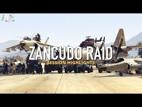 Zancudo Raid   GTA V Cinematic
