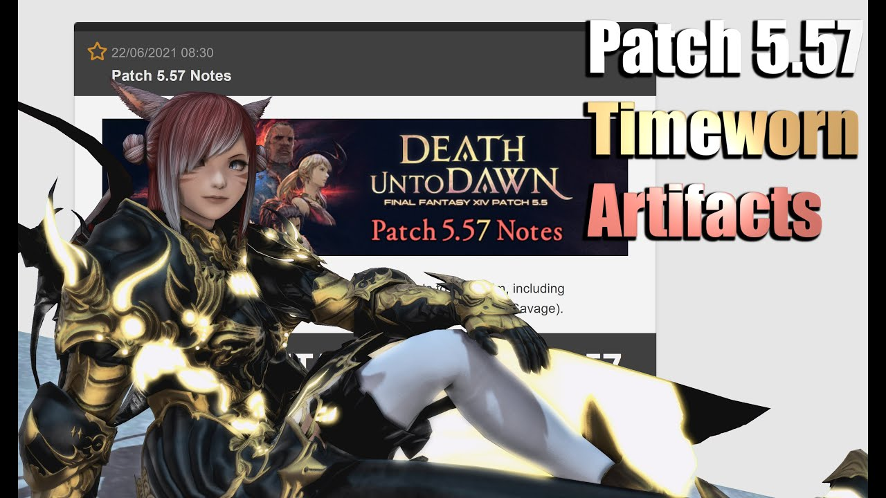 5.57 Patch Notes - Significant Relic Weapon Changes