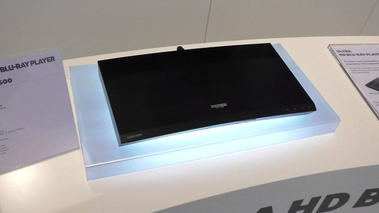 4k Blu Ray Player Von Samsung Ubd K8500 Ifa 2015 Youtube