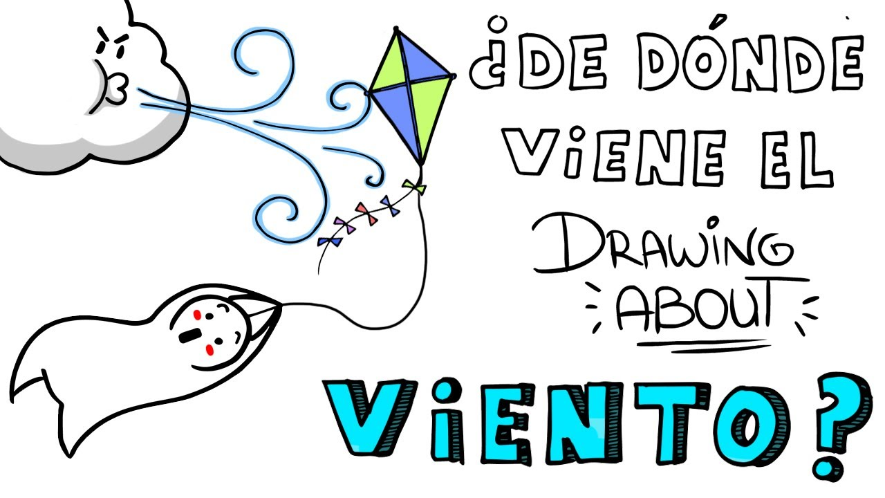 De D Nde Viene El Viento Drawing About Youtube