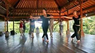 Om Gan Ganapati! Training compilation with Kathak Master Anurekha Ghosh Bali Immersion