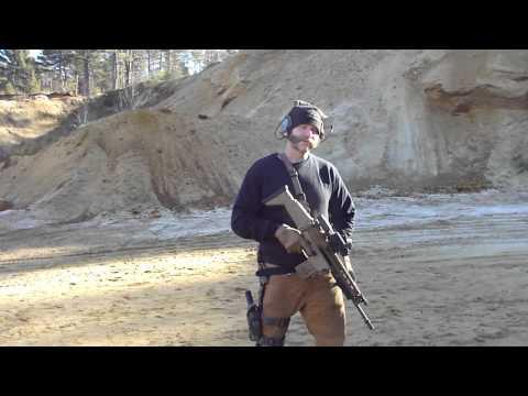 PMM SCAR 17 Machine gun