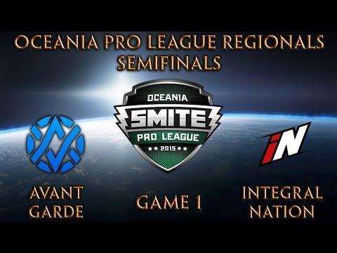 Oceania Regionals - Avant Garde vs Integral Nation Game 1 (Semifinals)