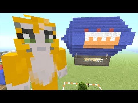 Minecraft: Xbox - Building Time - Blimp {52}