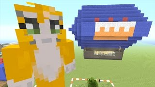 Minecraft: Xbox - Building Time - Blimp {52}