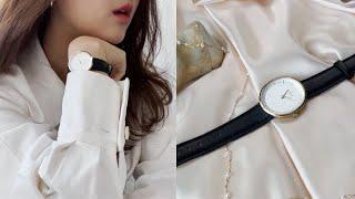 Fashion haul|덴마크감성 시계 브랜드 노드그린…