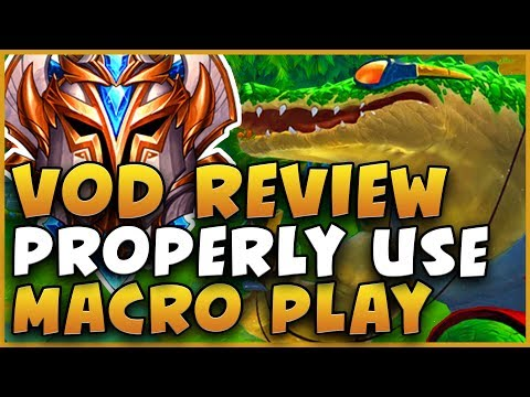 HOW TO PROPERLY USE MACRO PLAY, WAVE MANAGEMENT, AND MAKE CORRECT DECISIONS!!! VOD REVIEW