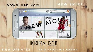 DOWNLOAD NOW!! FIFA 14 MOD 18 ALL UPDATED+NEW PRACTICE ARENA