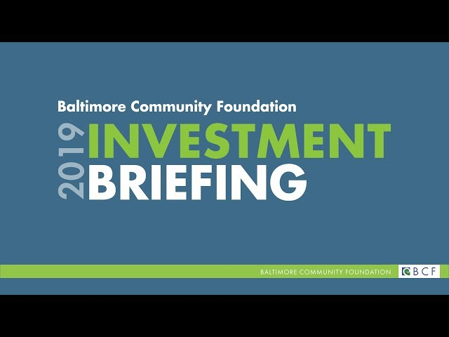 2019 BCF Investment Briefing