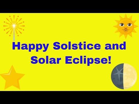 Solar Eclipse in Capricorn and Solstice!