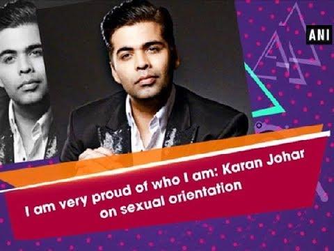 I am very proud of who I am: Karan Johar on sexual orientation - Bollywood News