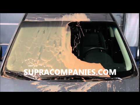 Supra Companies CLEAR ARMOR -  MUD Untreated vs Treated Video