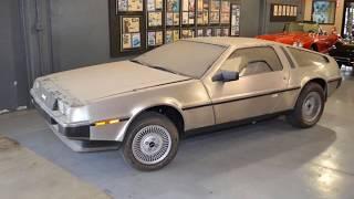 """""""Она простояла 36 лет в гараже. Капсула времени: DeLorean DMC-12 1981-го года"""""""