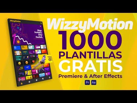 1000 Plantillas Gratis para Premiere Pro & After Effects