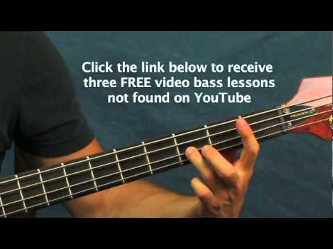 bass guitar lessons i will survive cake youtube. Black Bedroom Furniture Sets. Home Design Ideas