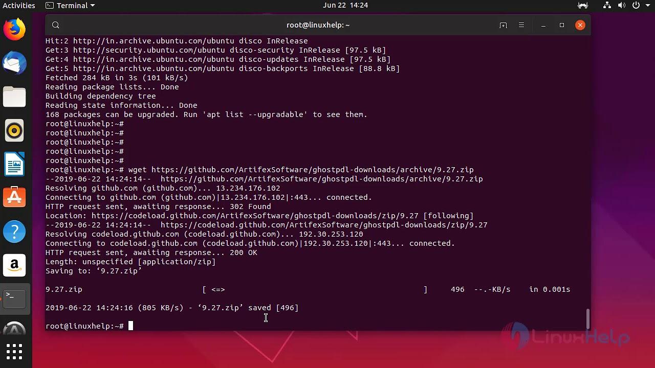 How to install GhostScript 9 27 on Ubuntu 19 04