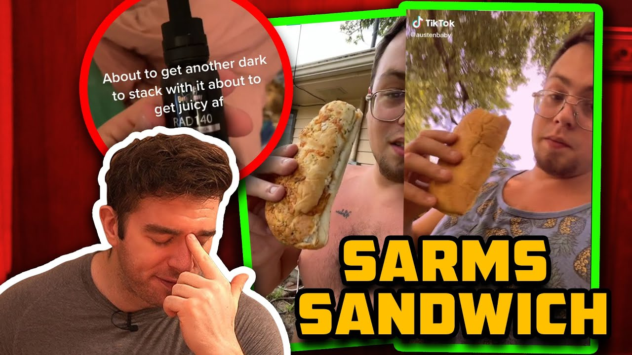He Literally Eats SARMs Sandwiches AND Is Bigger Than You