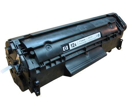 Инструкция по заправке картриджа HP Q2612A для HP LaserJet 1010 Canon LBP 2900