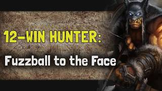 Hearthstone Arena - Taverns of Time - 12-Win Hunter: Fuzzball to the Face
