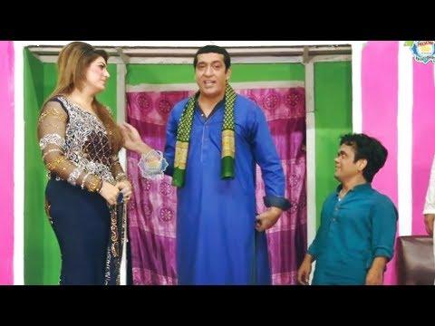 Zafri Khan and Vicky Kodu with Asha Choudhary Stage Drama Baazigar Comedy Clip 2019