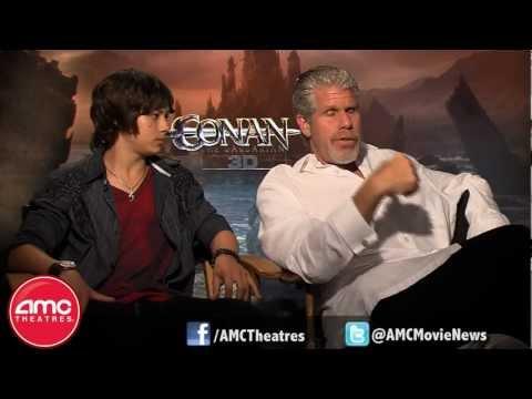Ron Perlman and Leo Howard Talk CONAN THE BARBARIAN With AMC