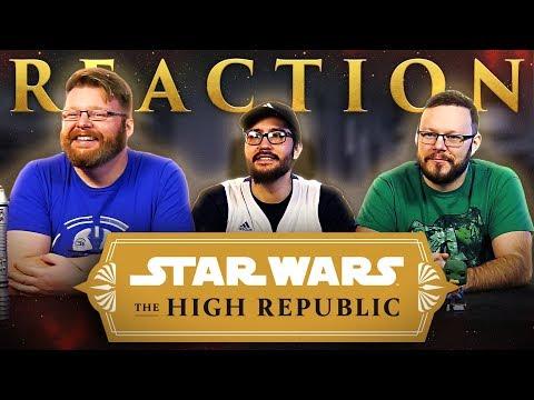 Star Wars: The High Republic | Announcement Trailer REACTION!!