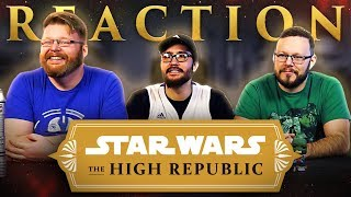 Star Wars: The High Republic | Announcement Trailer REACTION!!