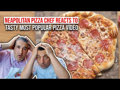 Neapolitan Pizza Chef Reacts to Most POPULAR PIZZA VIDEO in the World