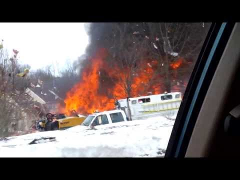 Explosion in Ewing New Jersey - Original Raw Video