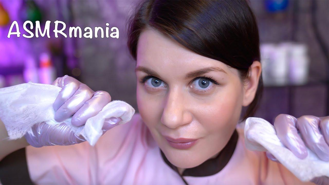 Лучший в мире АСМР Косметолог, Мурашки, Ролевые Игры / ASMR Cosmetologist Role Play