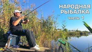 Ловим рыбу на творог.Народная рыбалка.Часть 1.