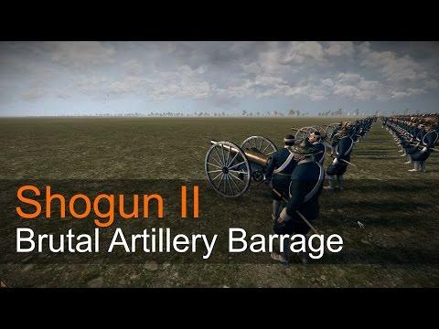 Shogun II - Brutal Artillery Barrage |