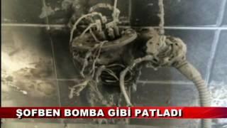 ŞOFBEN BOMBA GİBİ PATLADI (19.06.2016-BOLU)