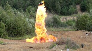 Взрываем бочки как в кино | Crash Zone | Blow up barrels like in a movie