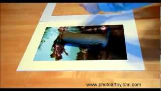 Archival Mounting and Matting Demo