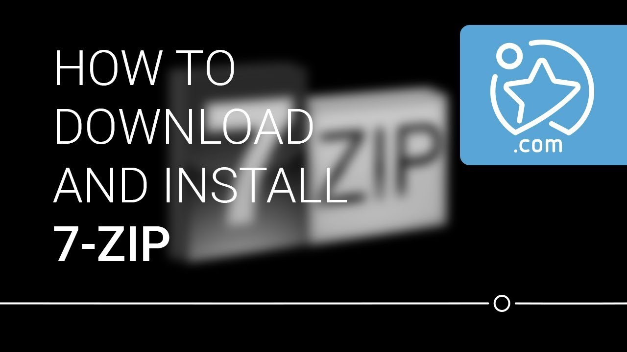 How To Download and Install 7 Zip