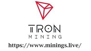 Minings.Live Tron TRX Mining - Günlük %5 Kazanç   50 TRX Yatırım Yaptım