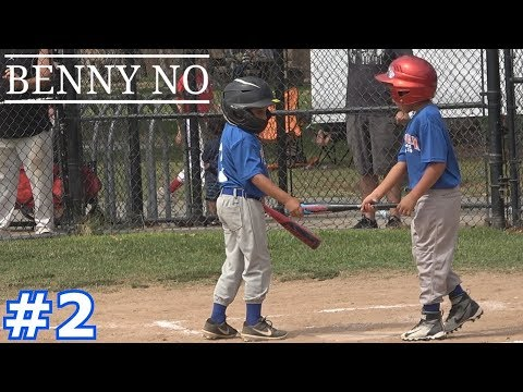LUMPY AND MASON THE DYNAMIC DUO | Benny No | LITTLE LEAGUE FALL BALL GAMES #2