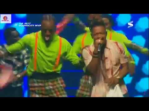 Mr Real Performs Legbegbe at Soundcity MVP Awards 2018