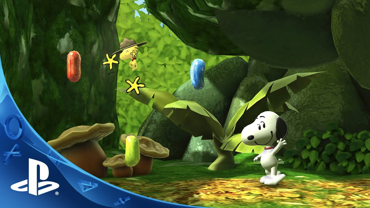 Animated Jungle Wallpaper The Peanuts Movie Snoopy S Grand Adventure Multi Player