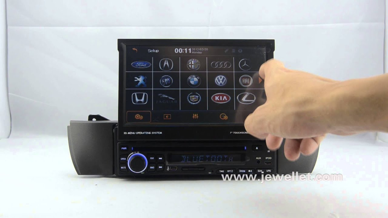 Bmw Z4 E85 Dvd Gps Navigation With Bluetooth Ipod Youtube