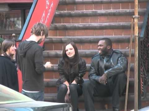 50 Cent  of Twelve in NY with Emily Meade & Chace Crawford