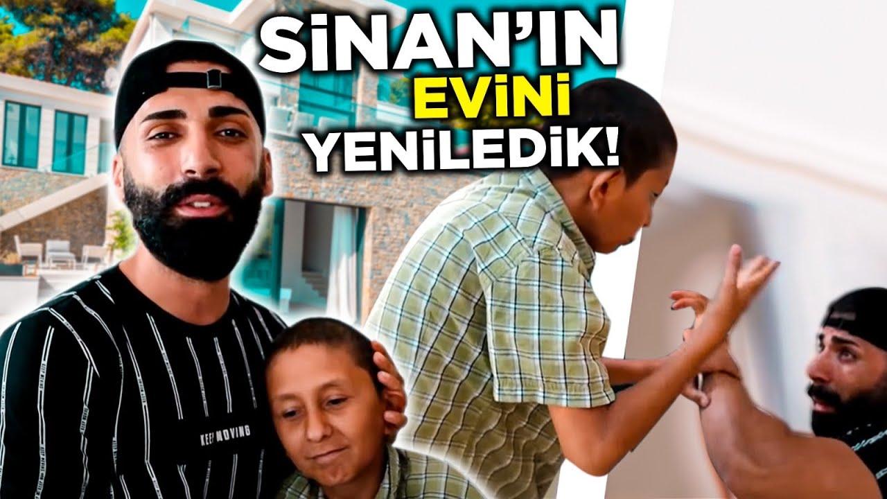 Sinan'ın Evini Yeniledik   Her şeyi Sattık